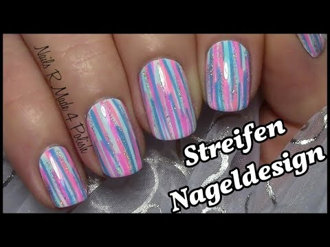 Nageldesign save from youtube - Nailart muster ...