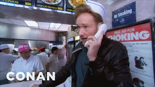 Video Conan Delivers Chinese Food in NYC MP3, 3GP, MP4, WEBM, AVI, FLV Agustus 2019