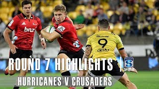 Hurricanes v Crusaders Rd.7 2019 Super rugby video highlights | Super Rugby Video Highlights