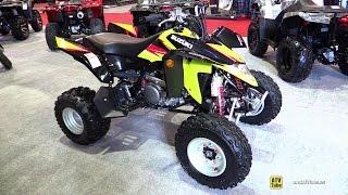 10. 2014 Suzuki Quadsport Z400 - Walkaround - 2014 St-Hyacinthe ATV show