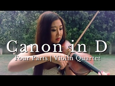 Canon in D Major - Pachelbel - Violin String Quartet