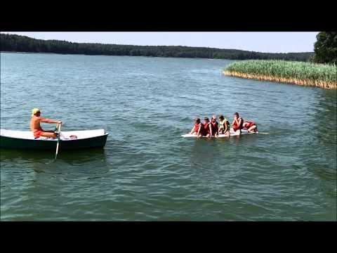2014 - Obóz Ostróda - zajęcia na wodzie
