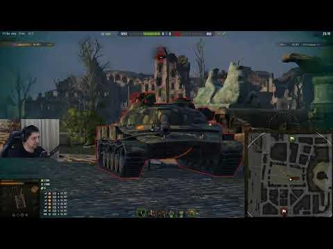 Inspirer учит Левшу танковать на Объект 907 (видео)