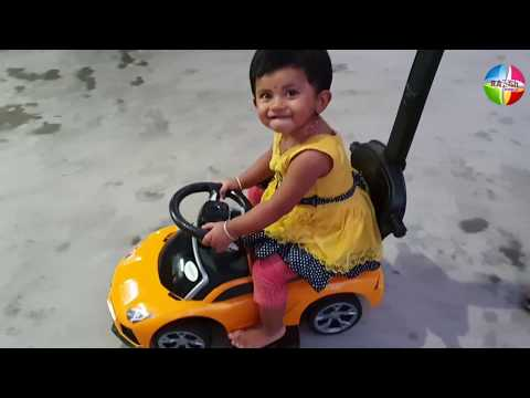 Baybee Kids Ride On Push Car Toy for Babies with Music Parent Control Unboxing