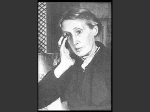 recorded - This is the only surviving recording of Virginia Woolf's voice. It is part of a BBC radio broadcast from April 29th, 1937. The talk was called 