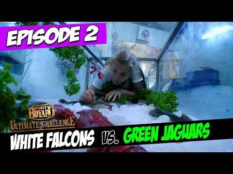 White Falcons Vs. Green Jaguars | Series 5, Episode 2 | Fort Boyard: Ultimate Challenge