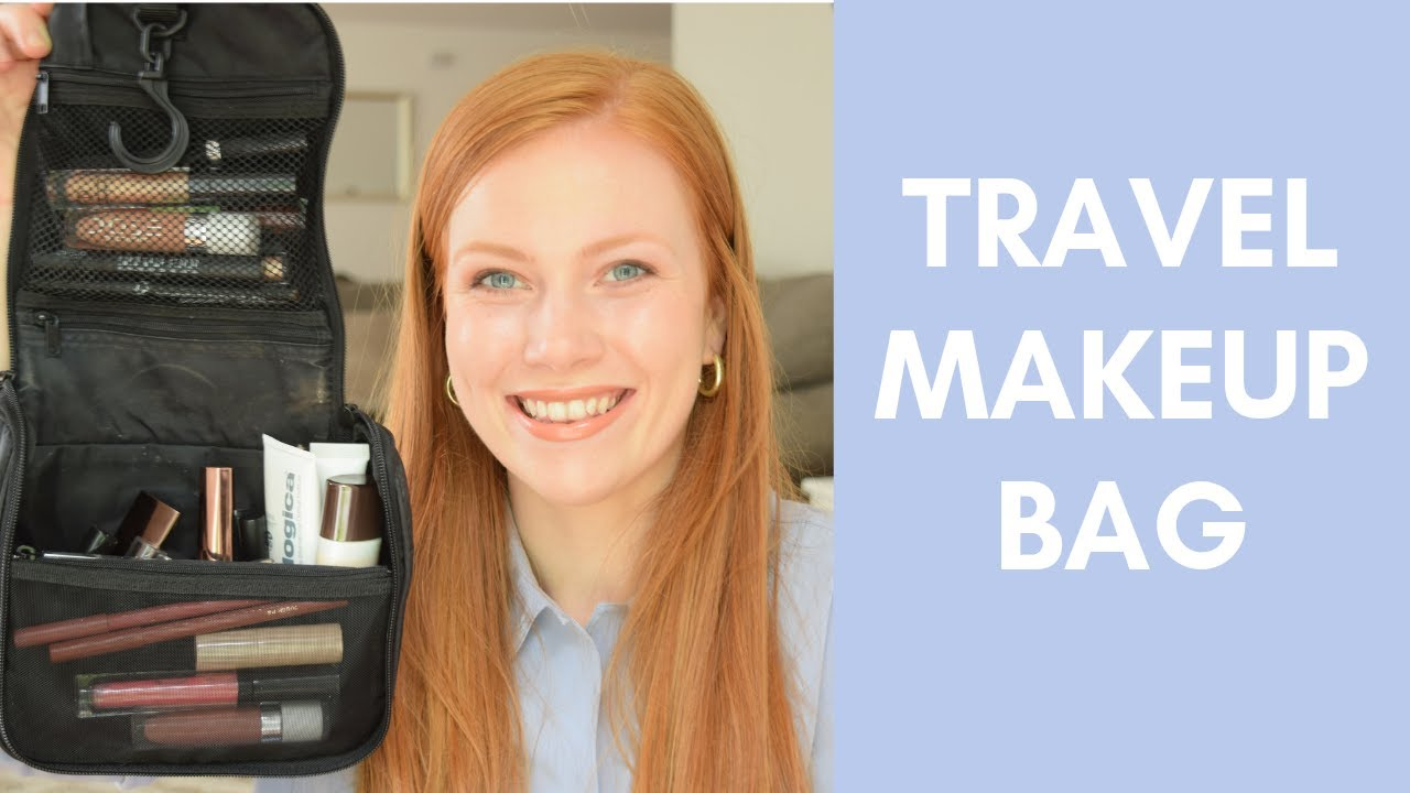 What's in my Travel Makeup Bag? | Simply Redhead