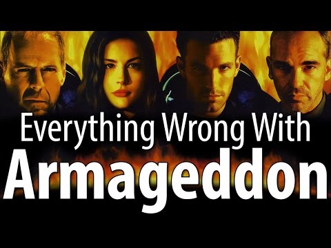 wrong - It's finally time to count the sins of the Michael Bay-est of all the Michael Bay movies... Armageddon. As you might expect, we found plenty wrong with it. Thursday: Animated sins. Seriously,...