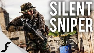 SILENT SNIPER - Battlefield 4 Multiplayer Gameplay