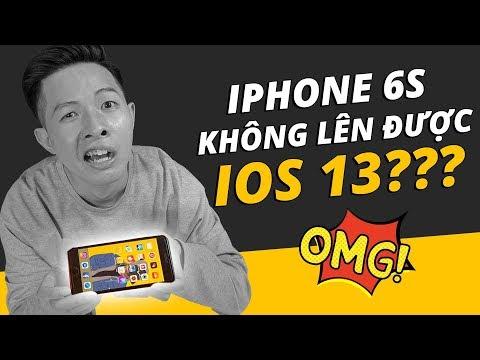 iPHONE 6S SẼ KHÔNG ĐƯỢC LÊN iOS 13??? - Thời lượng: 8 phút, 13 giây.