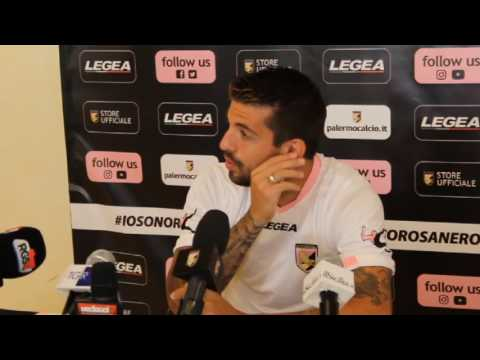 """Palermo, Trajkovski: """"Questo deve essere il mio anno"""""""