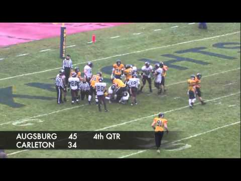 Carleton College Football Comeback vs. Augsburg