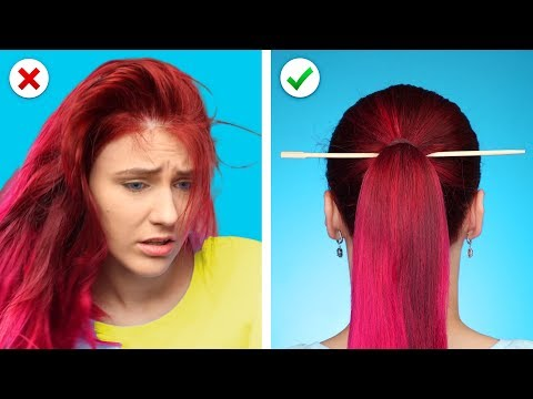 Relax! And Fix it with 10 Cool and Simple Hairstyles and Hair Hacks - Thời lượng: 10 phút.