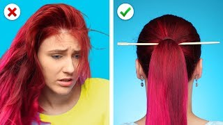 Video Relax! And Fix it with 10 Cool and Simple Hairstyles and Hair Hacks MP3, 3GP, MP4, WEBM, AVI, FLV Desember 2018