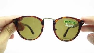 This is an unboxing for the Persol PO 3108 24/57 Havana sunglasses, with Brown polarized lens!