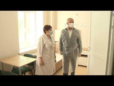 Глава государства посетил Страшенский районный центр общественного здоровья и больницу в селе Ворничень