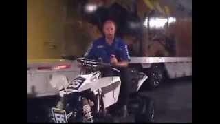 8. Doug Gust on Suzuki LT R450