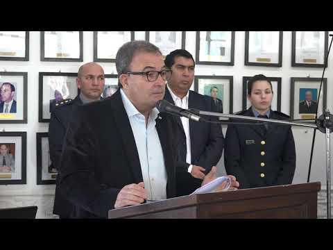 Pedro Pesatti: Acto finalización Curso de Perfeccionamiento Jerárquico de Comisario