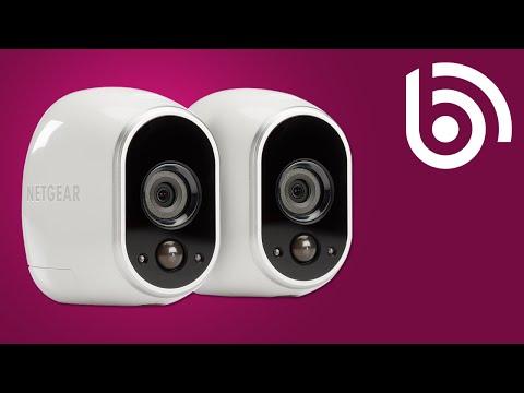 NETGEAR Arlo WiFi IP Camera Demo dog cam