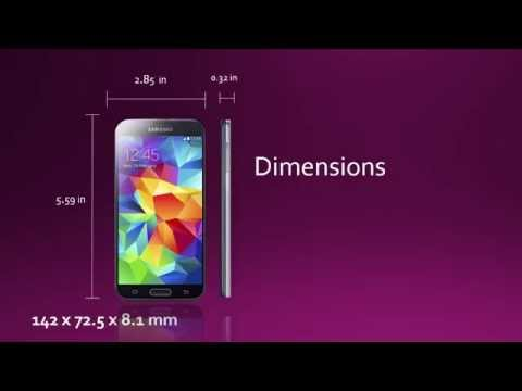 Samsung Galaxy S5 for  Verizon ( specs and features )