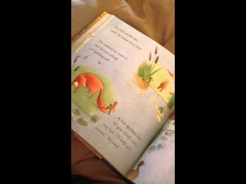 The Gingerbread Man in the Usborne Big Book of Little Stories