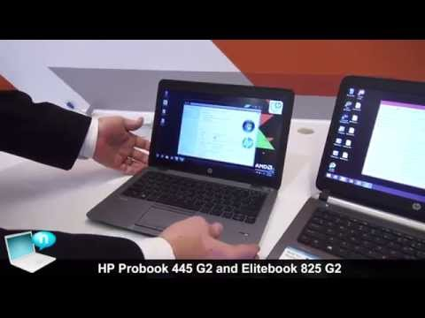 HP Probook 445 G2 and HP Elitebook 825 G2 with AMD Kaveri