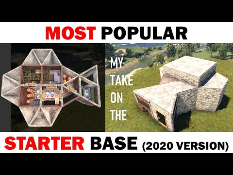 How to Build a Simple 2x2 Starter Base Design 2020 in RUST