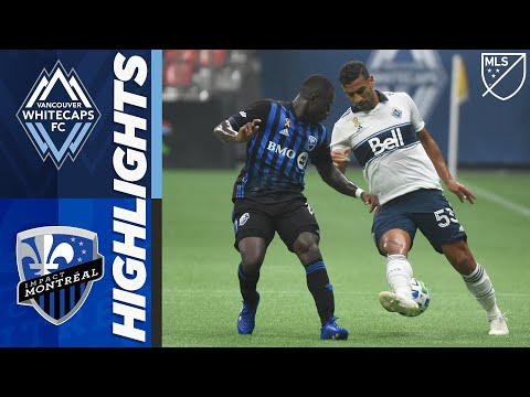 Vancouver Whitecaps FC vs Montreal Impact | September 13, 2020 | MLS Highlights