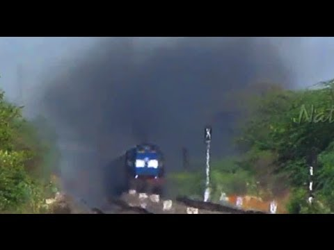 Indian Railways High Speed Diesel Action : 14 ALCO's & 3 EMD's