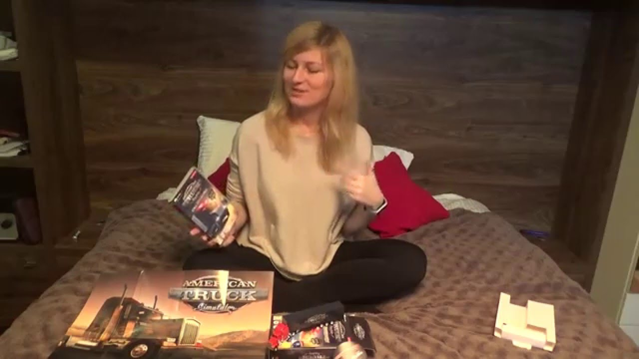 Trucking Girl - American Truck Simulator Unboxing