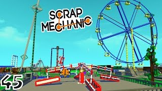 Video LE MEILLEUR PARC D'ATTRACTIONS ! | Scrap Mechanic ! #Ep45 MP3, 3GP, MP4, WEBM, AVI, FLV September 2017