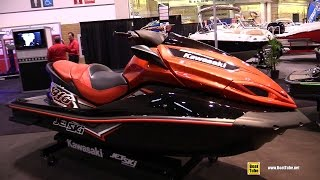 8. 2014 Kawasaki Jet Ski Ultra 310X Special Edition - Walkaround - 2015 Tororto Boat Show