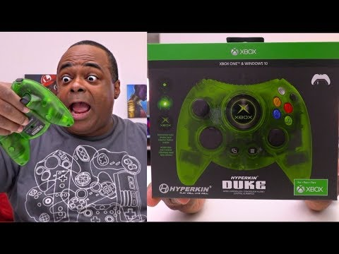 NEW Green DUKE Controller for Xbox One! [Gamestop Exclusive]