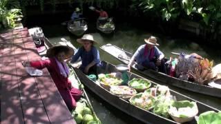 Mercado Flotante De Bangkok - Tailandia - Damnoen Saduak Floating Market - Thailand