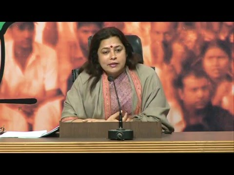 Blaming Central Govt without putting the best effort forward, is the strategy of AAP: Smt . M Lekhi
