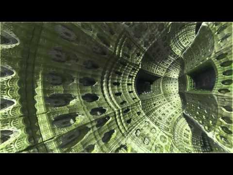 Trip to center of hybrid fractal