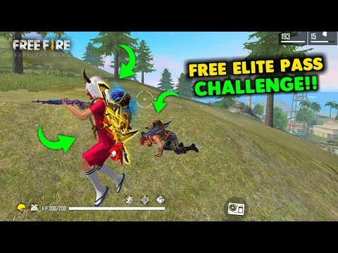 Win Free Elite Pass in Solo vs Squad Situation Gameplay - Garena Free Fire