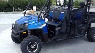 2. 2013 Polaris Ranger Crew 800 EPS LE In Blue Fire At Tommy's MotorSports