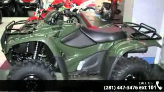 9. 2014 Honda FourTrax TRX420FE Rancher 4X4 ES - Bob Lunsfor...