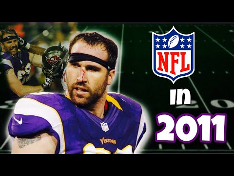 What the NFL was like 10 years ago