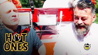 Download Youtube: Chili Klaus and Sean Evans Eat the World's Hottest Pepper on the Carriage Ride From Hell | Hot Ones