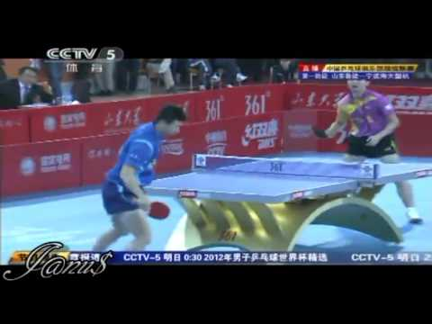 2012 China Super League: FANG Bo - MA Long [Full* Match/Short Form]