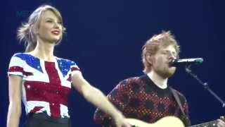 Video Lego House - Taylor Swift and Ed Sheeran - Red Tour - Multi-Cam - February 1, 2014 MP3, 3GP, MP4, WEBM, AVI, FLV Januari 2018