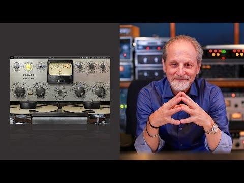 Behind the Kramer Master Tape Plugin – a Webinar with Eddie Kramer