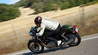 4. 2013 Triumph Thruxton 900 Vs Moto Guzzi Stone Part 2 - MotoUSA
