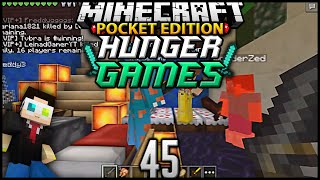 Minecraft POCKET EDITION Hunger Games Ep 45: CONTROL PREFERENCE? (MCPE Survival Games)