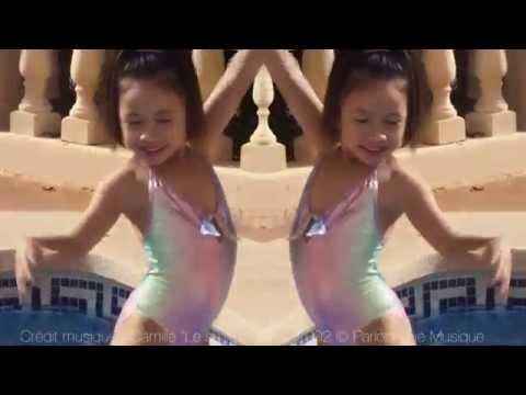 Maillot de bain fille 1 pièce Rainbow Princesse Ilou