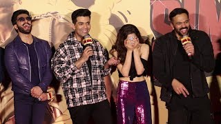 Video Ranveer Singh & Sara Ali Khan FUNNY MOMENTS At Simmba Trailer Launch MP3, 3GP, MP4, WEBM, AVI, FLV Januari 2019