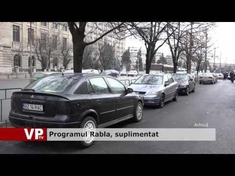 Programul Rabla, suplimentat