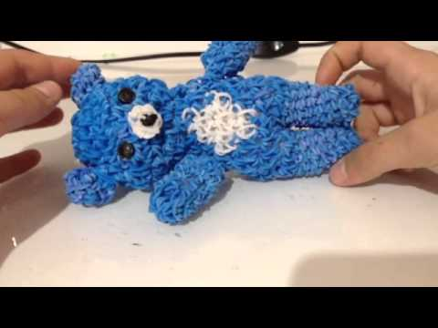 Плетение резиночками амигуруми